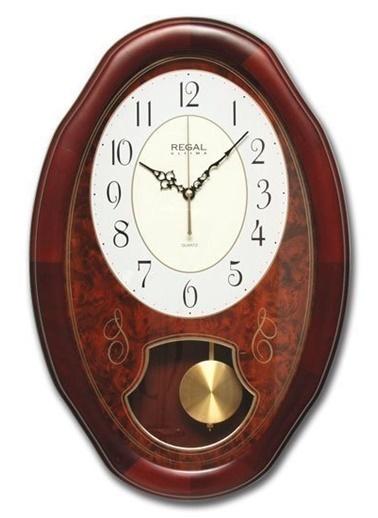 Ultima Regal Ultima Regal Oval Masif SarkaÇlı Klasik Duvar Saati Renkli